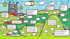 Art Therapy Positive Behavior Game Chart