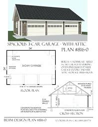 3 car garage plan 0 x by design door plans