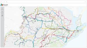 Newcastle Transport Keolis Downer Future Network Map