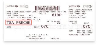 jetblue frequent flyer enrollment code tsa precheck jetblue