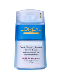 gentle lip and eye makeup remover 125ml skin care makeup remover l oreal paris msia