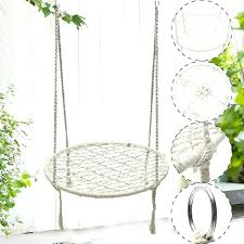 fabulous hanging chairs white rope hammock morocco round macrame net hanging chairs swing handmade home hanging outdoor chairs with stand