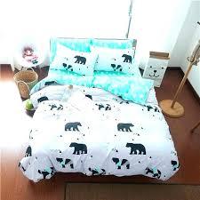 chicago bears bedding bears bedding bear bedding sets cartoon lovely polar bear linens 3 bedding sets chicago bears bedding