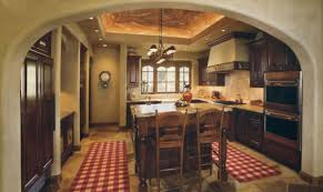 home office country kitchen ideas white cabinets. Enticing French Country Kitchens Ideas With Brown Wooden Countertop Including 2 Chair On The Floor And Home Office Kitchen White Cabinets S