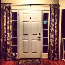 front door curtain panelCurtains  Front Door Curtains Amazing Side Door Curtains If You