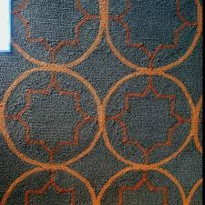 gray and orange rug for round area rugs animal print grey teal