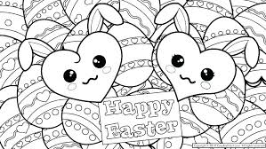 Preschool Coloring Pages Easter Free Printable Coloring Pages Free