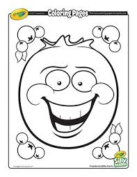 Silly Scents Blueberry Coloring Page Free Coloring Pages Free