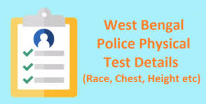 Wb Police Physical Test Details 2019 Check Wbp Chest