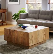 Plank Coffee Table From West Elm