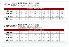 Always Up To Date Reebok Classic Size Chart Reebok Womens