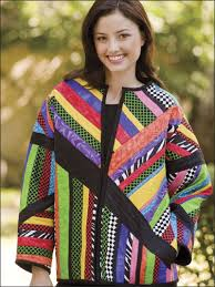 Quilting - Clothing & Accessories Patterns - Sweatshirt Jacket ... & Quilting - Clothing & Accessories Patterns - Sweatshirt Jacket Patterns -  Abstract Jacket Adamdwight.com