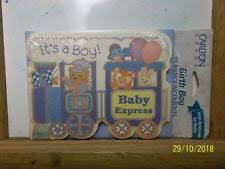 Boys Birth Announcements Cards Without Modified Item Ebay