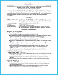 Sample Business Analyst Resume awesome Create Your Astonishing Business Analyst Resume and Gain 70