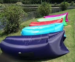 inflatable outdoor furniture. outdoor fast inflatable bed air sleep sofa lounge couch furniture sleeping lounger bag hangout bean camping beach wicker g