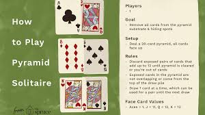 Drinking games are easy, fun and versatile. Pyramid Solitaire Card Game Rules