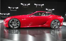 First Look: 2013 Lexus LF-LC Concept - Automobile Magazine
