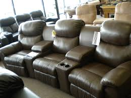 inexpensive home theater seating. Contemporary Faux Lather Home Theater Seating Inexpensive N