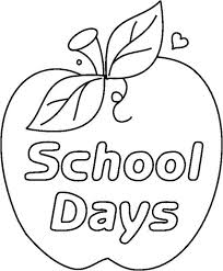 School Supplies Coloring Pages - GetColoringPages.com