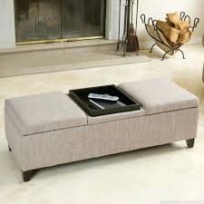 Decorating An Ottoman With Tray Ottoman Decor Marvelous Cocktail Ottoman Decorating Ideas Images In 65