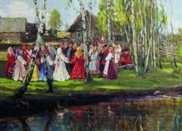 Свадебные традиции песни обычаи и обряды свадьбы на картинах  Тест на знание славянских традиций