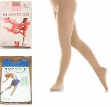 New Mondor 3371 Thick Footed Ice Skating Tights Child Adult Sizes Ebay
