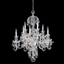 whole crystal chandelier vintage with 10 lights