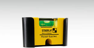 STABILA <b>Pocket</b> Electric <b>spirit level</b>, with rare-earth magnet system ...