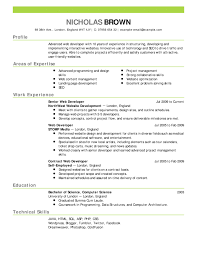 A Good Resume Classy What Is A Good Modern CV Format Good Resume Samples Resume Cover