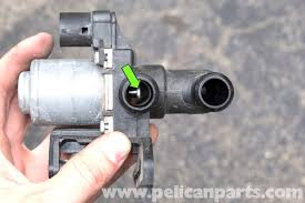bmw e60 5 series heater valve testing and replacement pelican testing the heater control valve the heater control valve is normally open allowing coolant