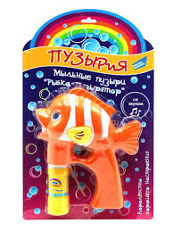 <b>Мыльные пузыри Рыбка</b>-пузырятор Пузырия 11011676 в ...