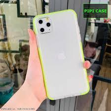 Ốp Lưng iPhone 11 Pro Max - Nhám Màu - Xanh Lá