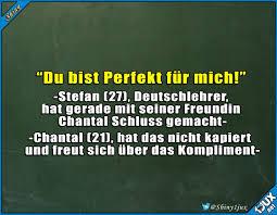 Wenn Deutschlehrer Schluss Machen Zweideutig Chantal Witz Witze