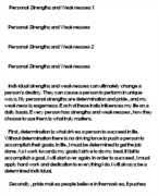 personal strengths and weaknesses essays personal strengths and weaknesses essay by anti essays