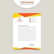 Free Download Creative Corporate Letterhead Template Wisxi Com