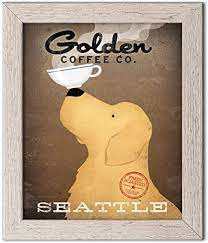 Opening at 6:30 am tomorrow. Amazon Com Adorable Golden Coffee Company Print Seattle By Ryan Fowler One 11x14in Paper Poster Print Posters Prints