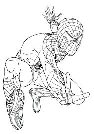 Spider Man Color Pages Amazing Spider Man Coloring Pages Photo