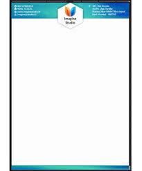 Letterhead Design Online Company Letterhead Format Online New Letterhead Format Free
