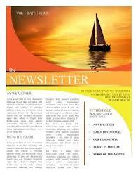 Church Newsletter Templates Newsletter Templates