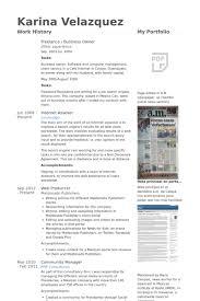 Freelance / Business Owner Resume samples
