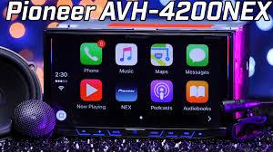 pioneer 4200nex. pioneer avh-4200nex - apple carplay \u0026 android auto double din review 2016 youtube 4200nex 0