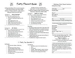 Event Planner Contract Delectable Event Planner Contract Event Planning Contract Party Planner