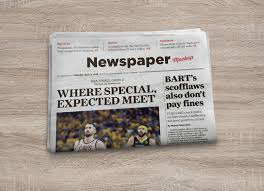 Free Photorealistic Newspaper Mockup Psd Good Mockups