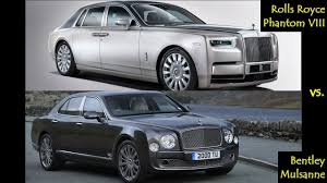2018 bentley phantom. modren bentley 2018 rolls royce phantom viii vs bentley mulsanne with bentley phantom