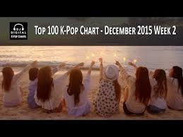 Top 100 K Pop Songs Chart December 2015 Week 2 Youtube