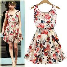 Buy <b>2019</b> New Fashion Chiffon Sleeveless <b>Women Summer</b> Dress ...