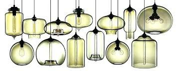 hand blown glass pendant lights modern chandelier light pendants and funnel nz full size