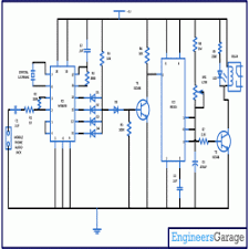 remote control for devices using cell phone engineersgarage circuit diagram for cell phone based remote control