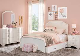 Rylee White 5 Pc Full Upholstered Bedroom - Teen Bedroom Sets Colors ...