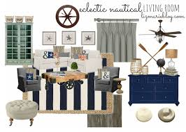 Nautical Decor Living Room Nautical Curtains For Living Room Decorate Our Home With